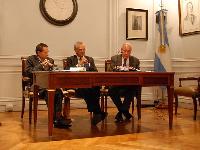 Acto de Incorporación del Dr. Rabbi-Baldi a la Academia Nacional de Ciencias Morales y Políticas. Palabras de presentación del Académico Jorge Reinaldo Vanossi